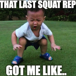 last squat rep