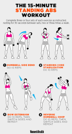 standing abs