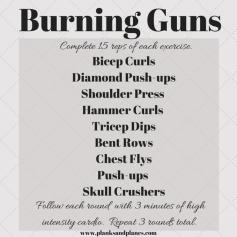 Burning Guns