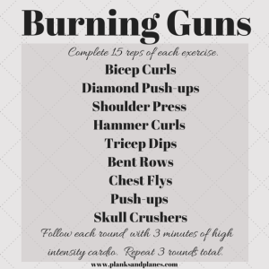 Burning Guns