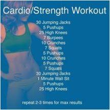 cardio strength blue