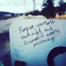 forgive and recommit