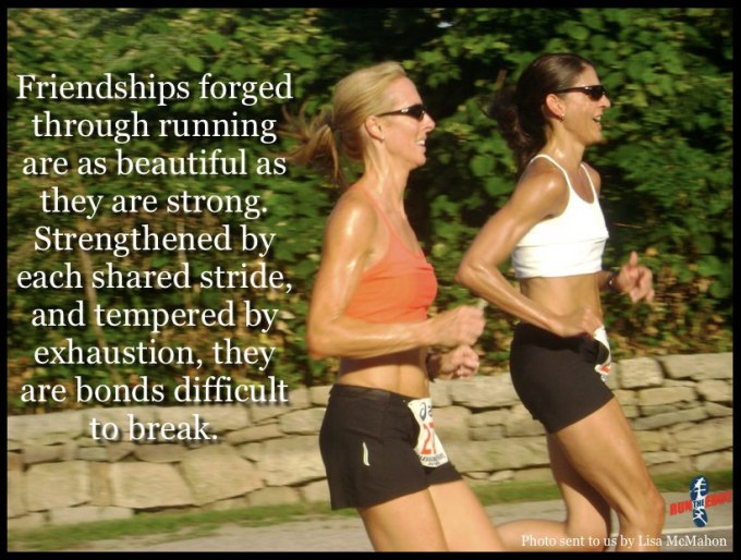 running friendships