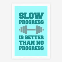 slow progress better than no progress