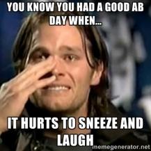 Good Ab Day