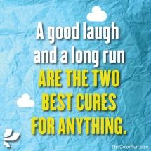 good laugh long run