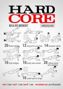 Hard Core Exercises