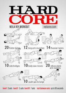 Hard Core Exercises