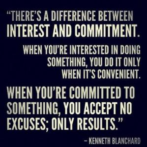 interest vs commitment