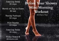 Mini Morning Workout