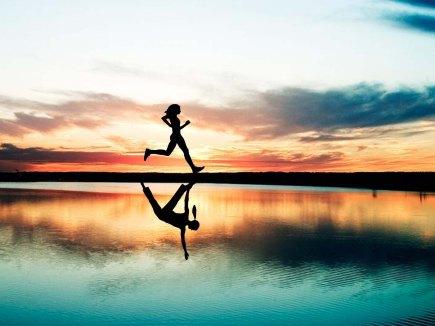 Yoga mirror image