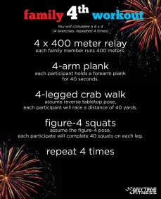 Family 4th workout