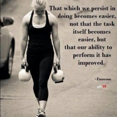Persist and it gets easier