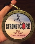 Strong to the Core Medal