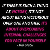 Victory over yourself
