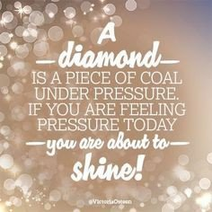 Diamonds shine brighter with pressure