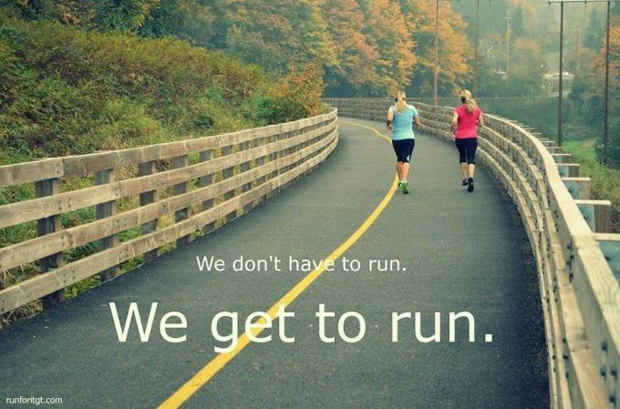 get to run