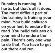 Running is running