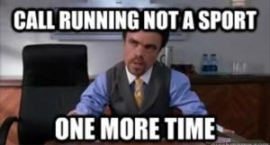 running not a sport