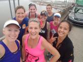 Core Crew at Gate River Run Bridge Training