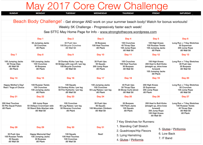 May 2017 30 Day Challenge Calendar - Final
