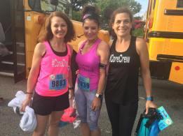 Kristy, Lisa & Brigid