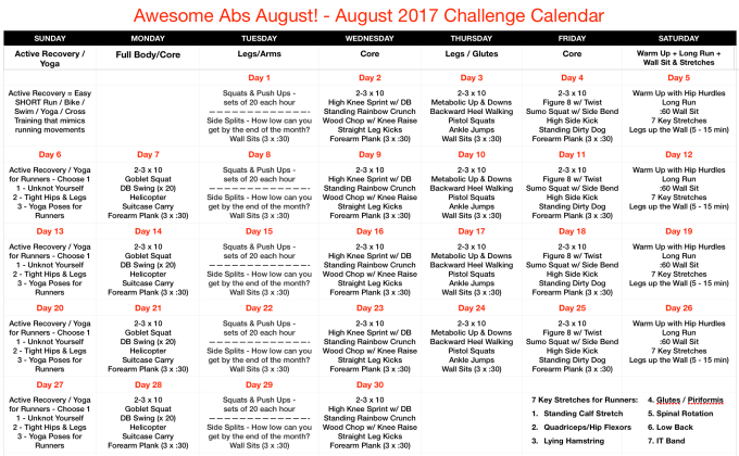 August 2017 Challenge - Final
