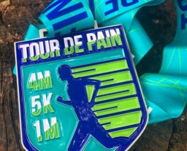 Tour de Pain Medal