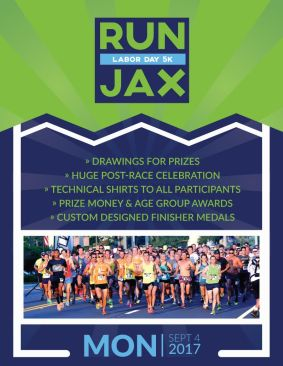 RunJax 5K One sheet