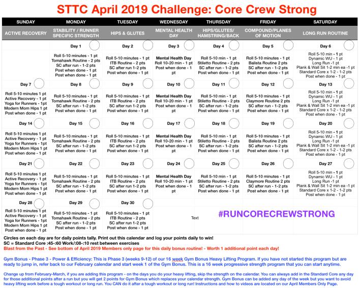 April 2019 Challenge
